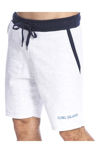 Bermuda Long Island Sweat Marinho