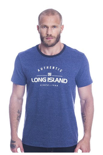 Camiseta Long Island Authentic Marinho