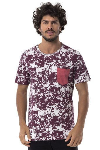 Camiseta Long Island AX Bordô