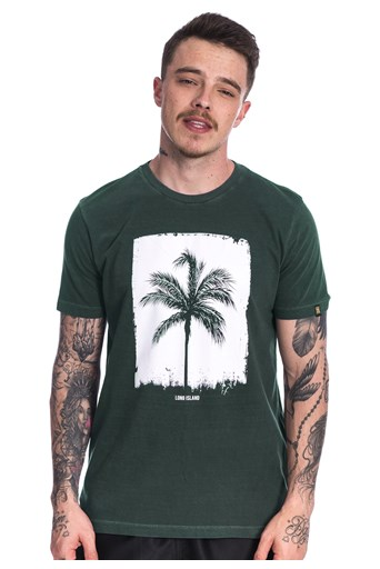 Camiseta Long Island Coconut Verde