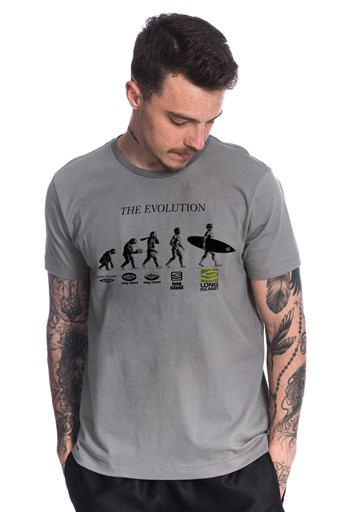 Camiseta Long Island Evolution Cinza