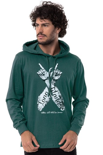 Camiseta Long Island Hands Verde