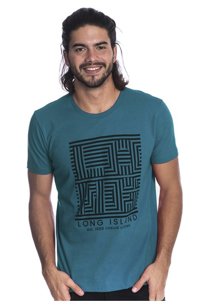Camiseta Long Island Lab Verde