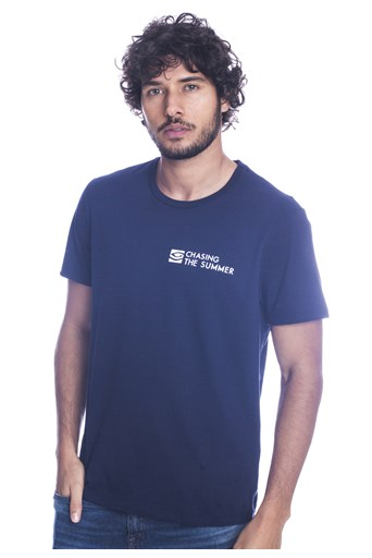 Camiseta Long Island Nautic Marinho