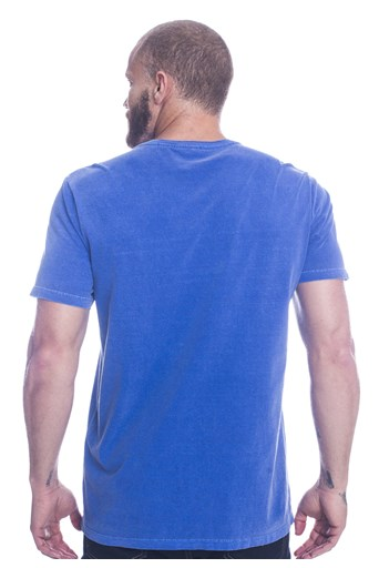 Camiseta Long Island Repeat Azul