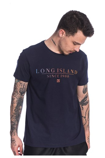 Camiseta Long Island Since Azul