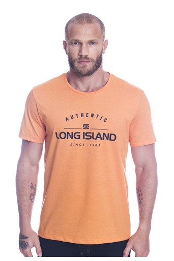 Camiseta Long Island Since Laranja