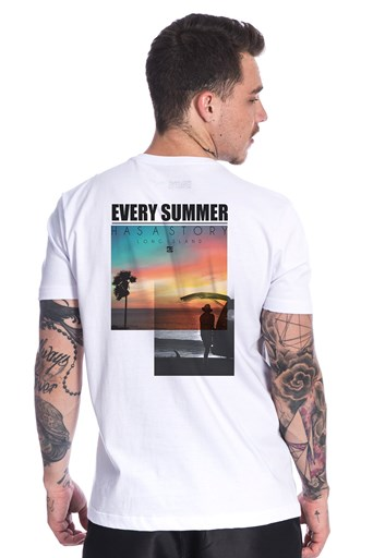 Camiseta Long Island Summer Branca