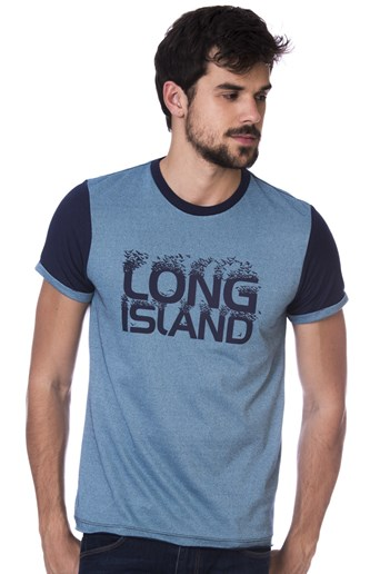 Camiseta Plus Size Long Island DW