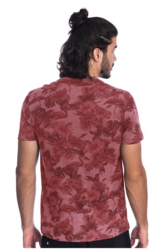 Camiseta Plus Size Long Island Flamingos