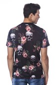 Camiseta Plus Size Long Island Skulls