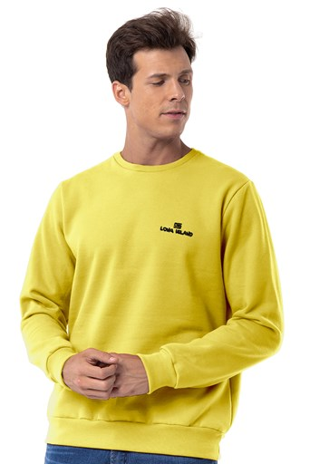 Moletom Long Island Colors Amarelo