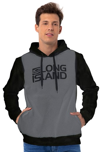 Moletom Long Island Folk Preto