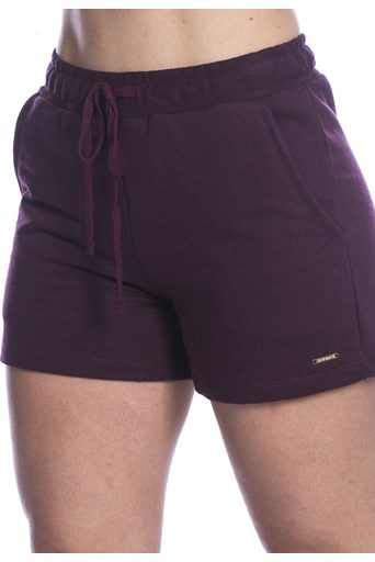 Shorts Long Island de Basic Bordo